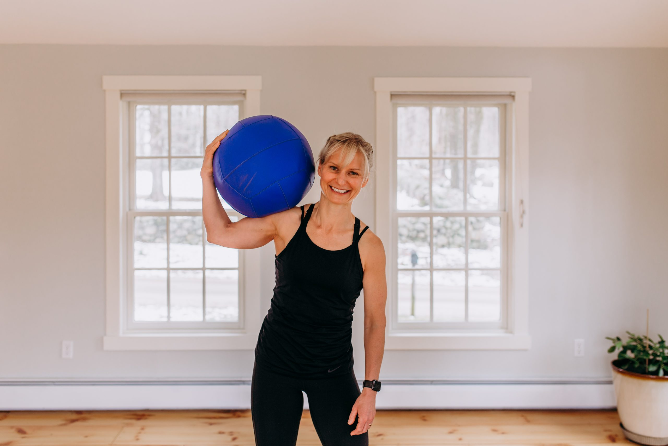 Jen with ball